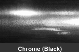 Black Chrome Pillar Post Trim Kits
