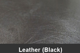 Black Leather Pillar Post Trim Kits