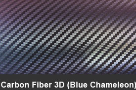 Blue Chameleon 3D Carbon Fiber Pillar Post Trim Kits