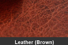 Brown Leather Pillar Post Trim Kits