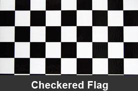 Checkered Flag Pillar Post Trim Kits