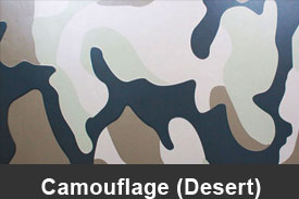 Desert Camouflage Pillar Post Trim Kits