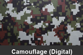 Digital Green Camouflage Pillar Post Trim Kits