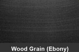 Ebony Black Wood Pillar Post Trim Kits