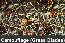 Grass Blades Camouflage Pillar Post Trim Kits