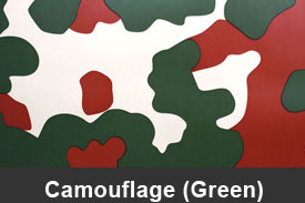 Green Camouflage Pillar Post Trim Kits