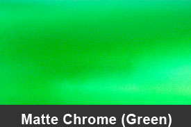 Green Matte Chrome Pillar Post Trim Kits