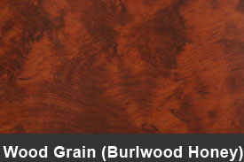 Honey Burlwood Wood Pillar Post Trim Kits