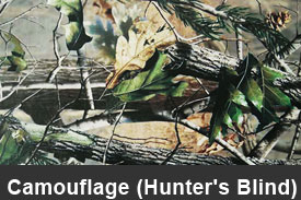Hunter's Blind Camouflage Pillar Post Trim Kits