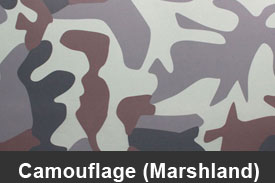 Marshland Camouflage Pillar Post Trim Kits