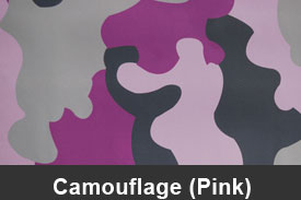 Pink Camouflage Pillar Post Trim Kits