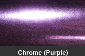 Purple Chrome Pillar Post Trim Kits