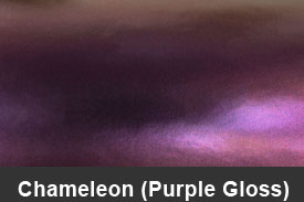 Purple Gloss Chameleon Pillar Post Trim Kits
