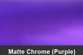 Purple Matte Chrome Pillar Post Trim Kits