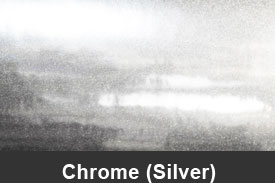 Silver Chrome Pillar Post Trim Kits