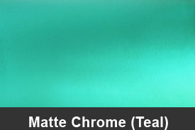 Teal Matte Chrome Pillar Post Trim Kits