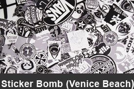 Venice Beach Sticker Bomb Pillar Post Trim Kits