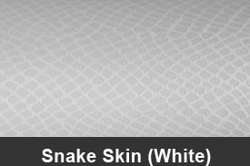 White Snake Skin Pillar Post Trim Kits