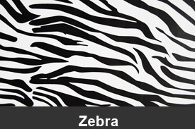 Zebra Pillar Post Trim Kits