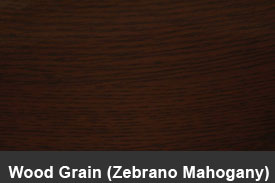 Zebrano Mahogany Wood Pillar Post Trim Kits