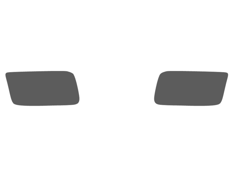 Dodge Ram 2011-2017 Fog Light Protection Covers Diagram