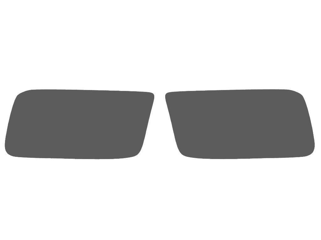 dodge ram 2011-2018 fog light protection covers diagram