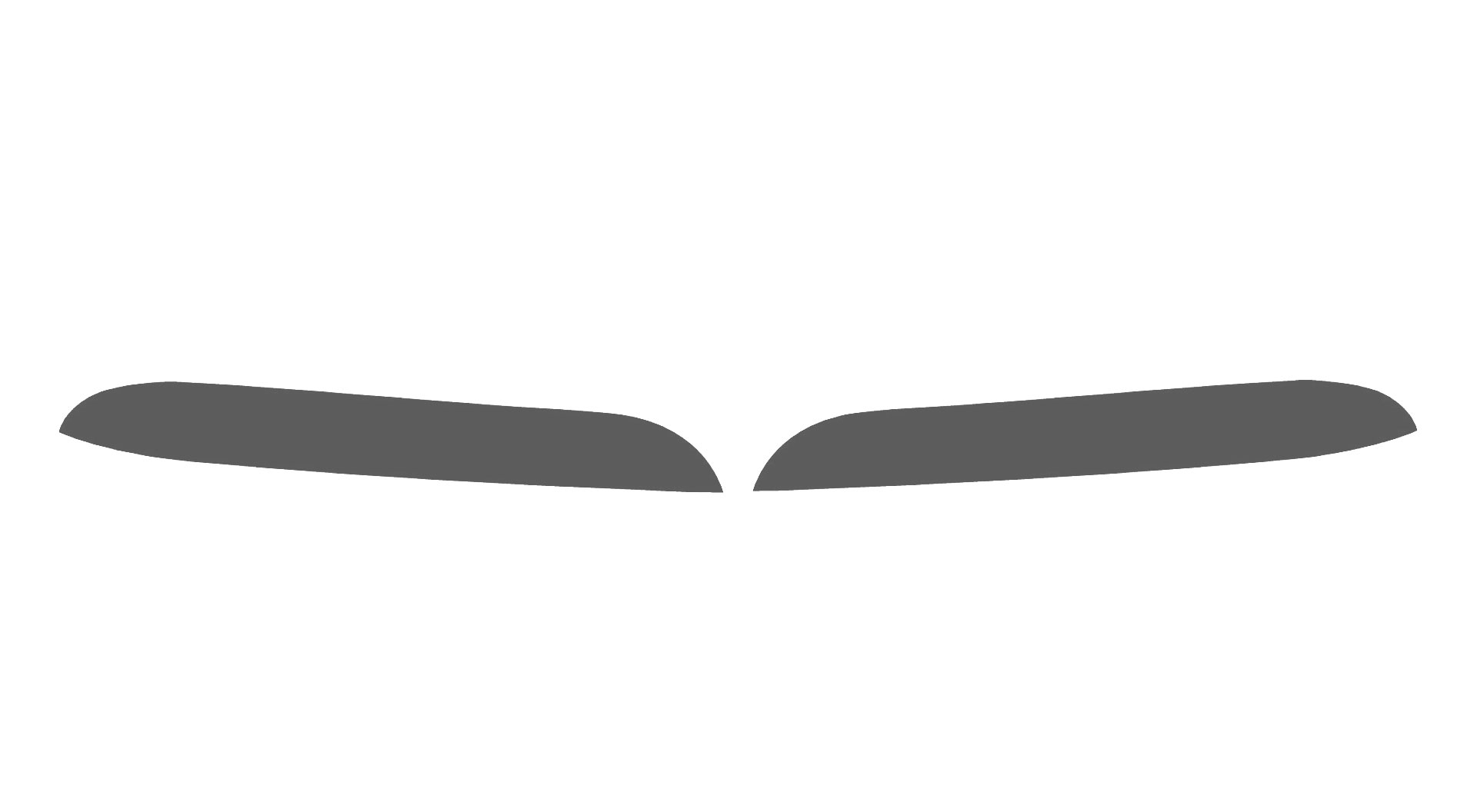 Mercedes-Benz C-Class 2012-2014 Fog Light Protection Covers Diagram