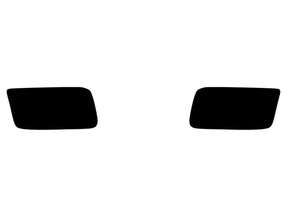 Dodge Ram 2011-2017 Fog Light Tint Diagram