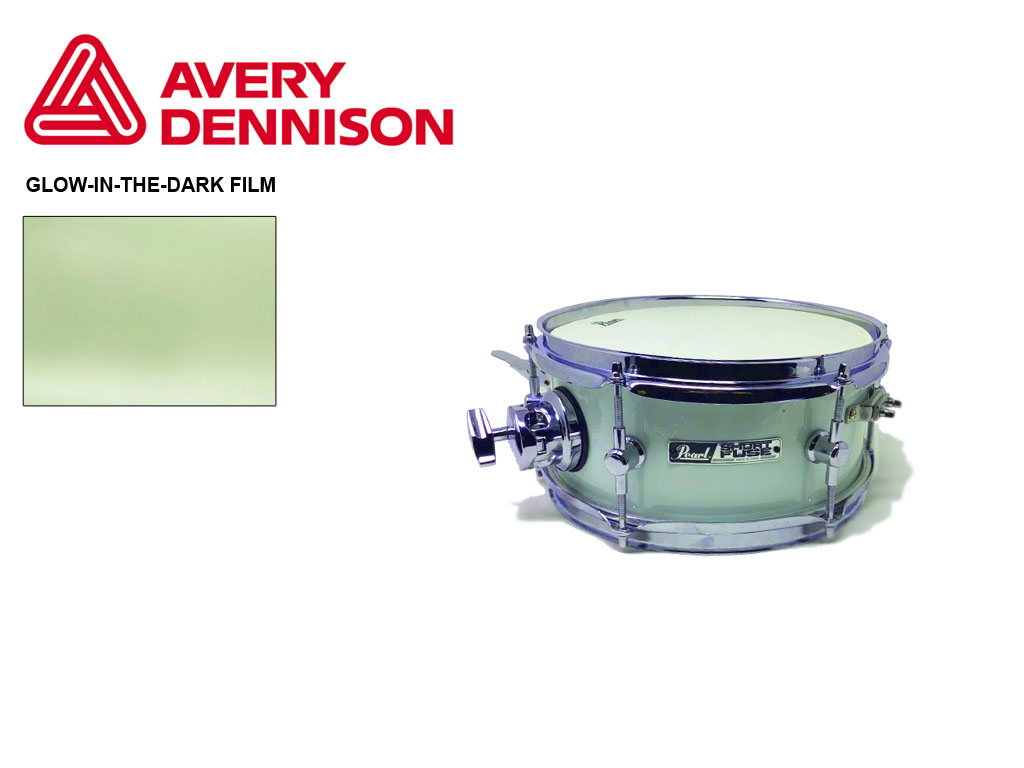 AVery SF100 Glow-in-the-Dark Drum Wrap