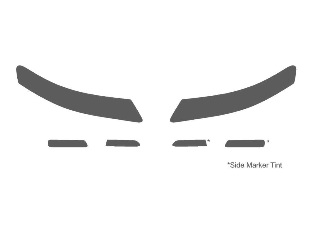 Rshield Acura TL Headlight Protection KitsProtective Kits - Acura tl decals