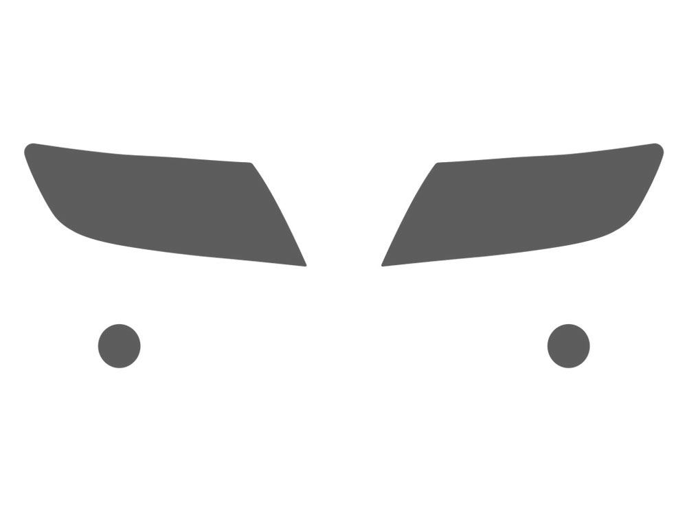 2014-2019 Corvette Headlight Clear Protector