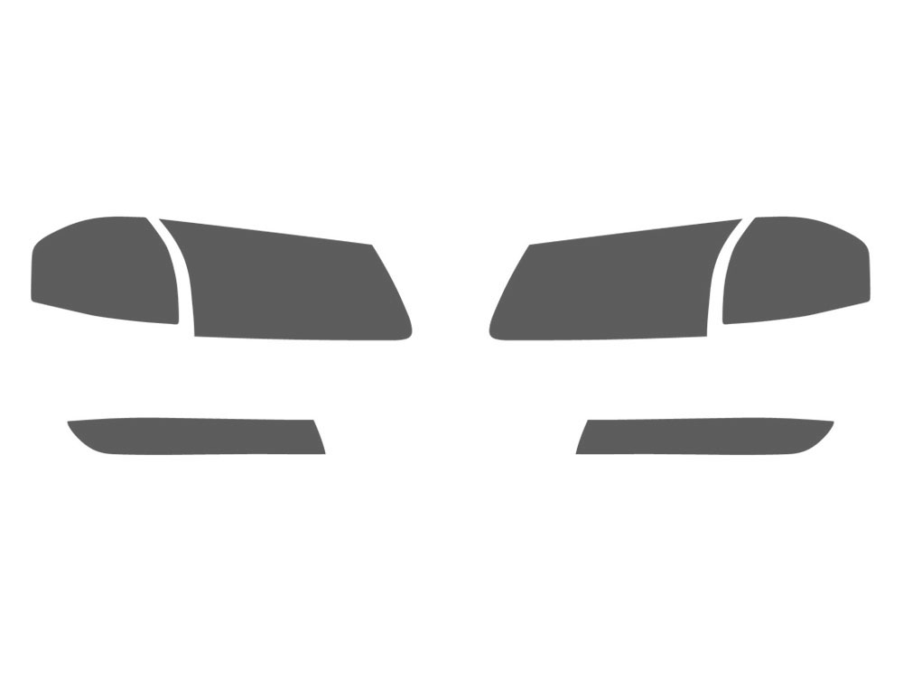 Chevrolet Impala 2000-2005 Headlight Tint