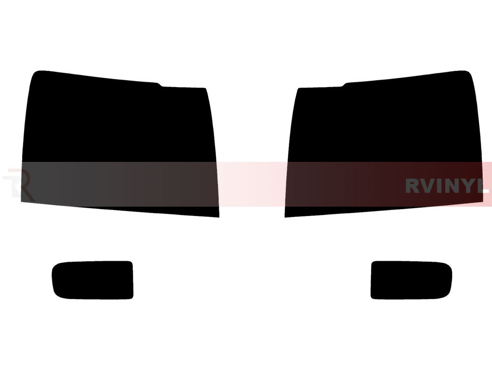 Chevrolet Tahoe 2007-2014 Headlight Tint