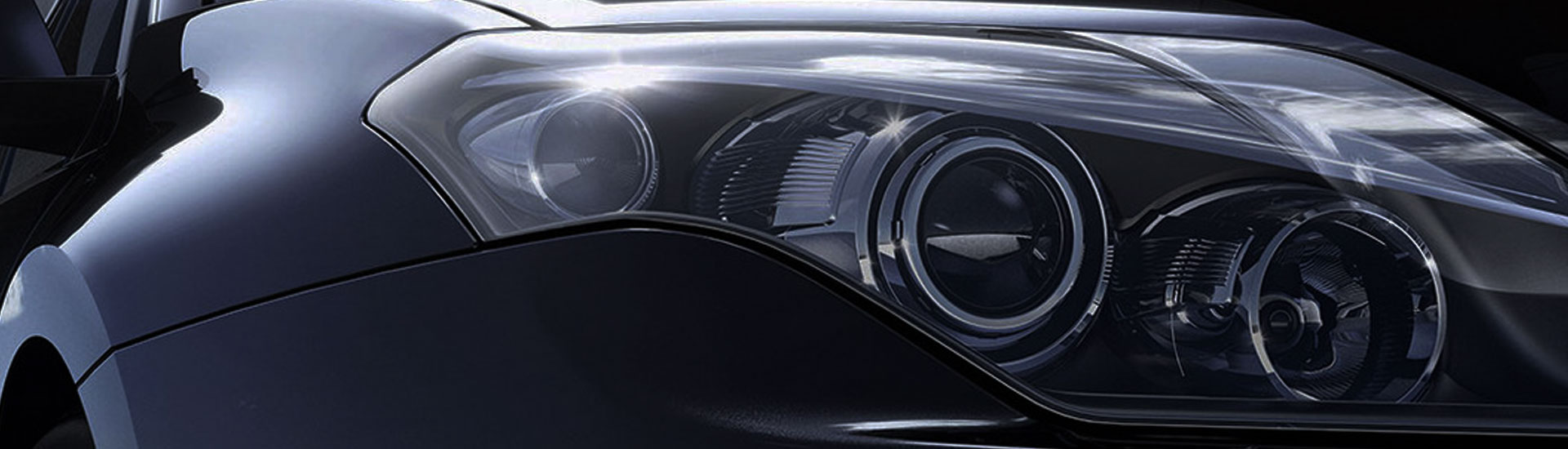 Mercedes-Benz E-Class Headlight Tint Covers