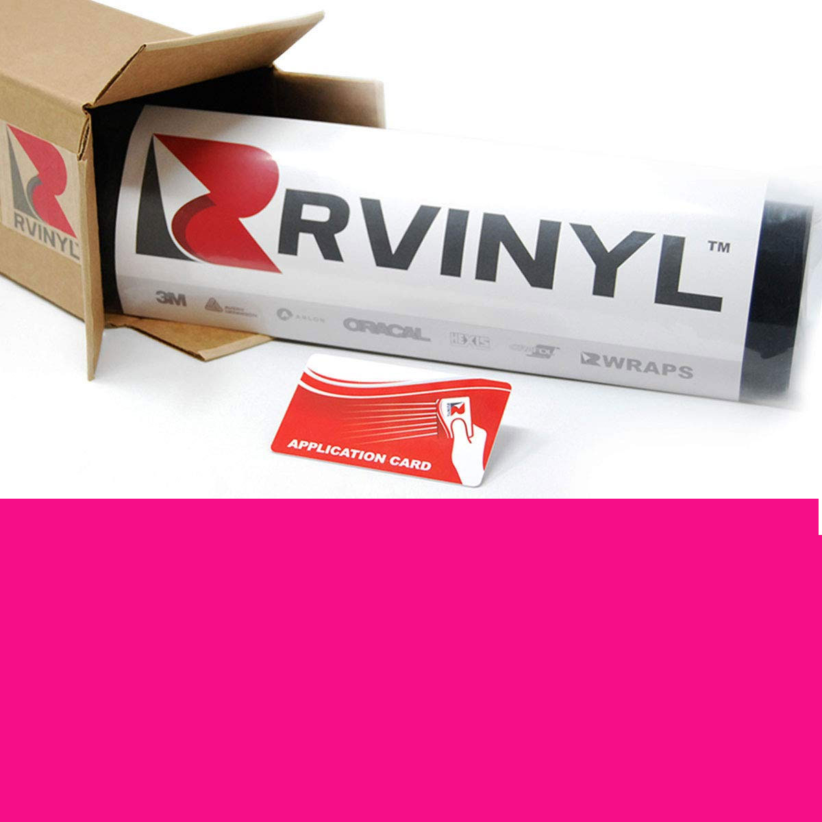 ORACAL 7510 Pink Fluorescent Premium Cast Film