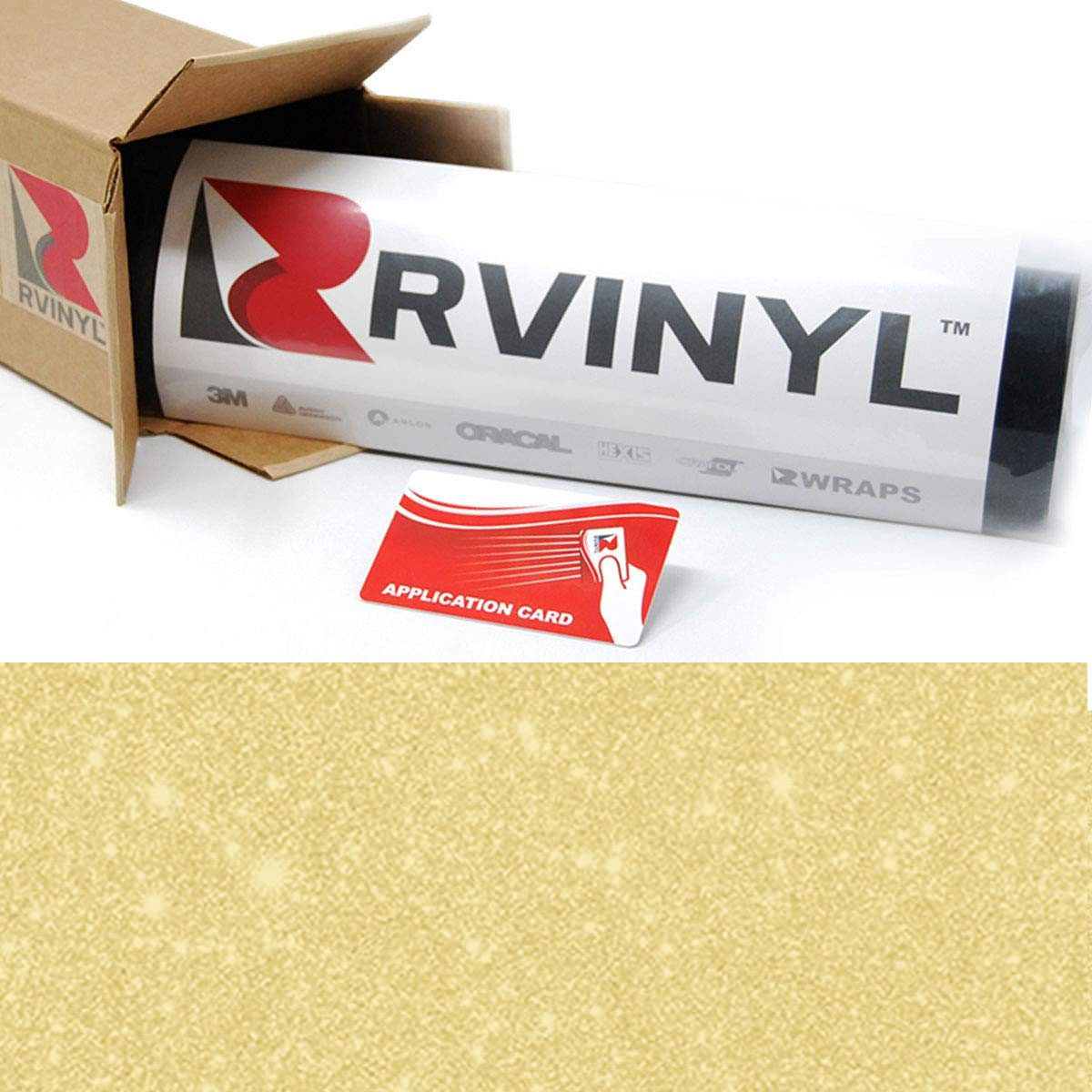 ORACAL 8810 Gold Frosted Calendered Film