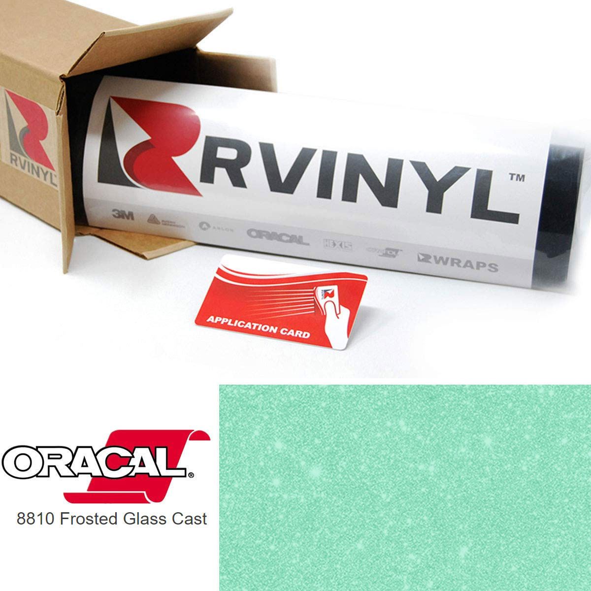 ORACAL 8810 Mint Frosted Calendered Film