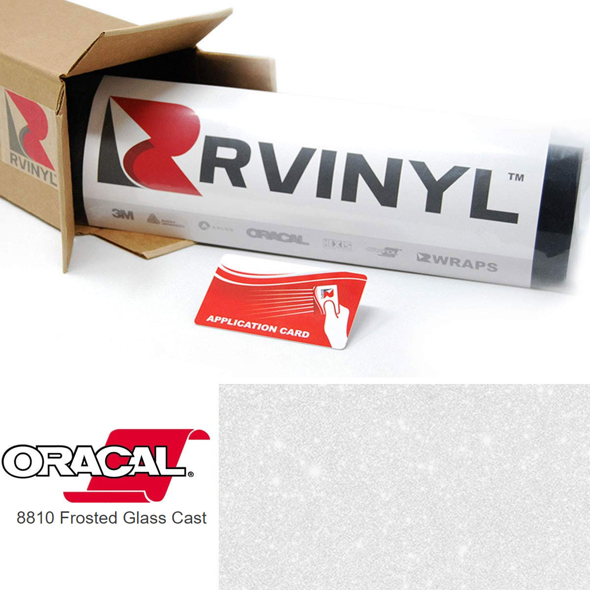 ORACAL 8810 Silver Gray Frosted Calendered Film