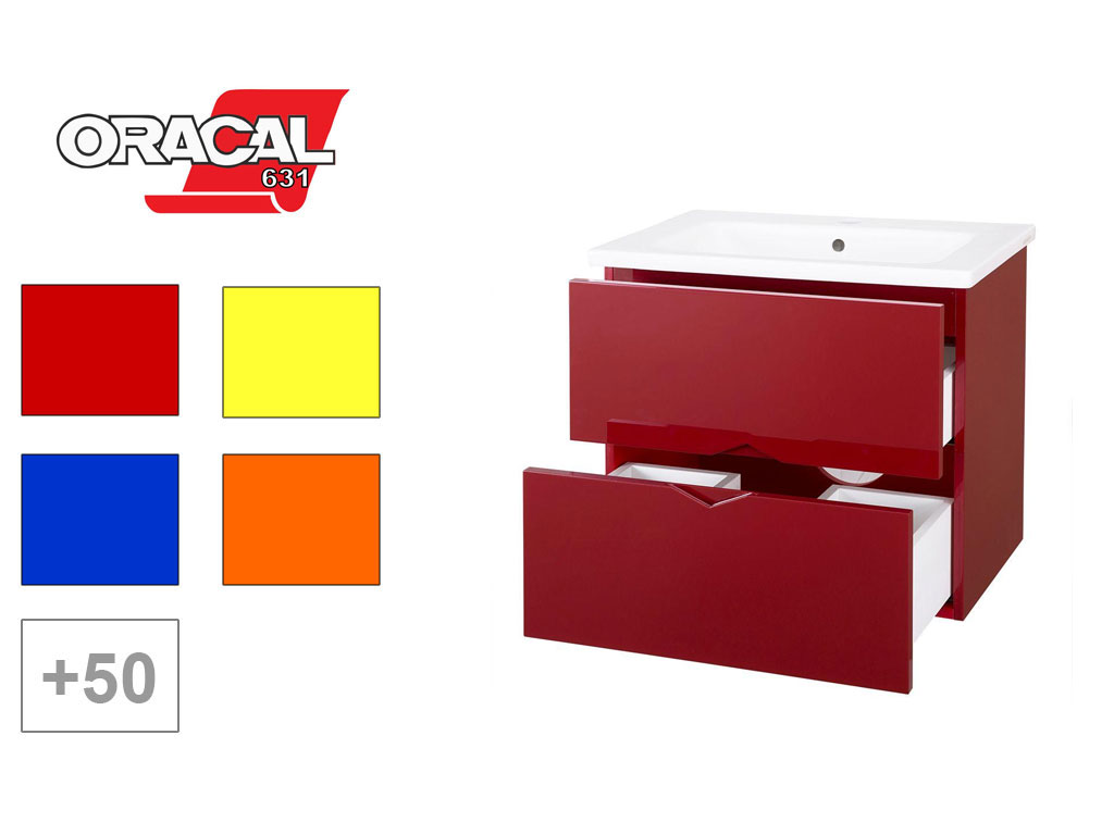ORACAL® 631 Matte Removable Cabinet Wraps
