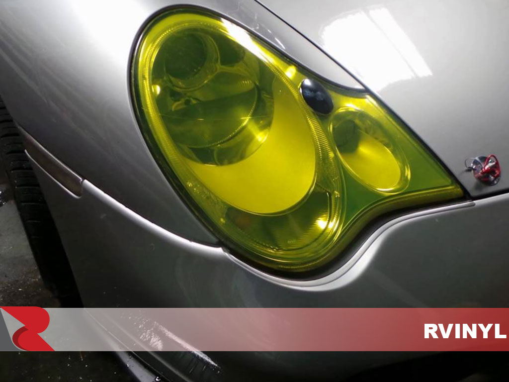 ORACAL® 8300 Transparent Brimstone Yellow Headlight Tint