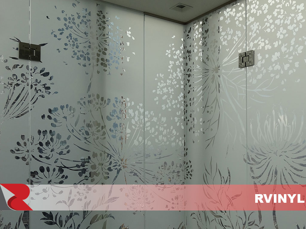 ORACAL® 8710 Dusted Glass Decorative Etched Decals
