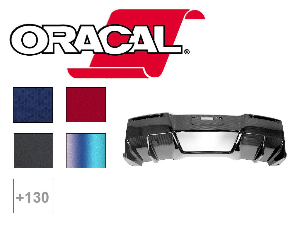 ORACAL ORAFOL 970RA & 975 Bumper Wrap Film