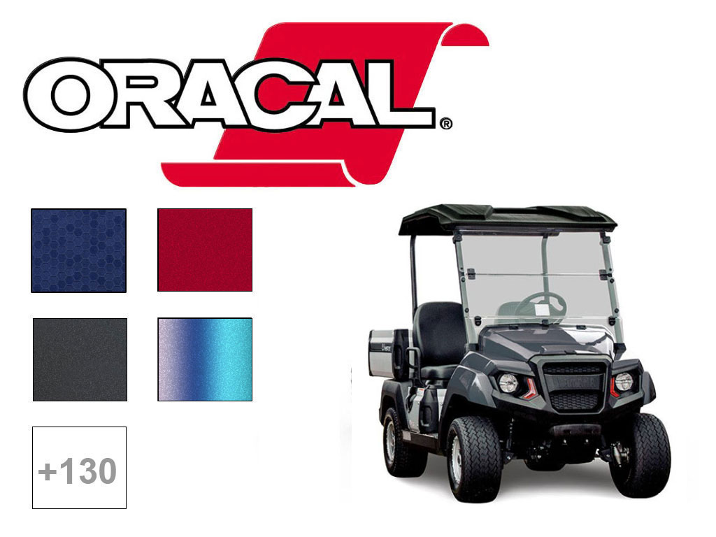 ORACAL® 970RA 975 Golf Cart Wrap