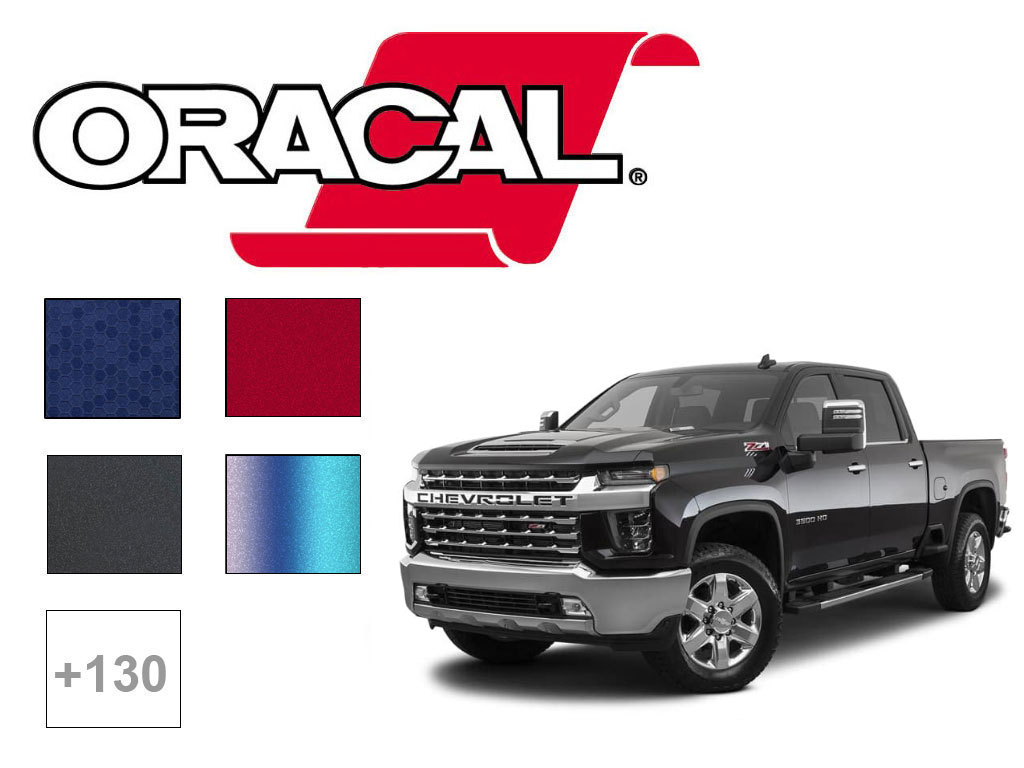 ORACAL ORAFOL 970RA & 975 Motorcycle Wrap Film