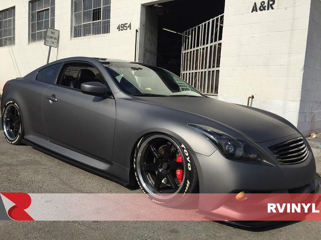 ORACAL® 970RA Charcoal Matte Metallic Vehicle Wrap