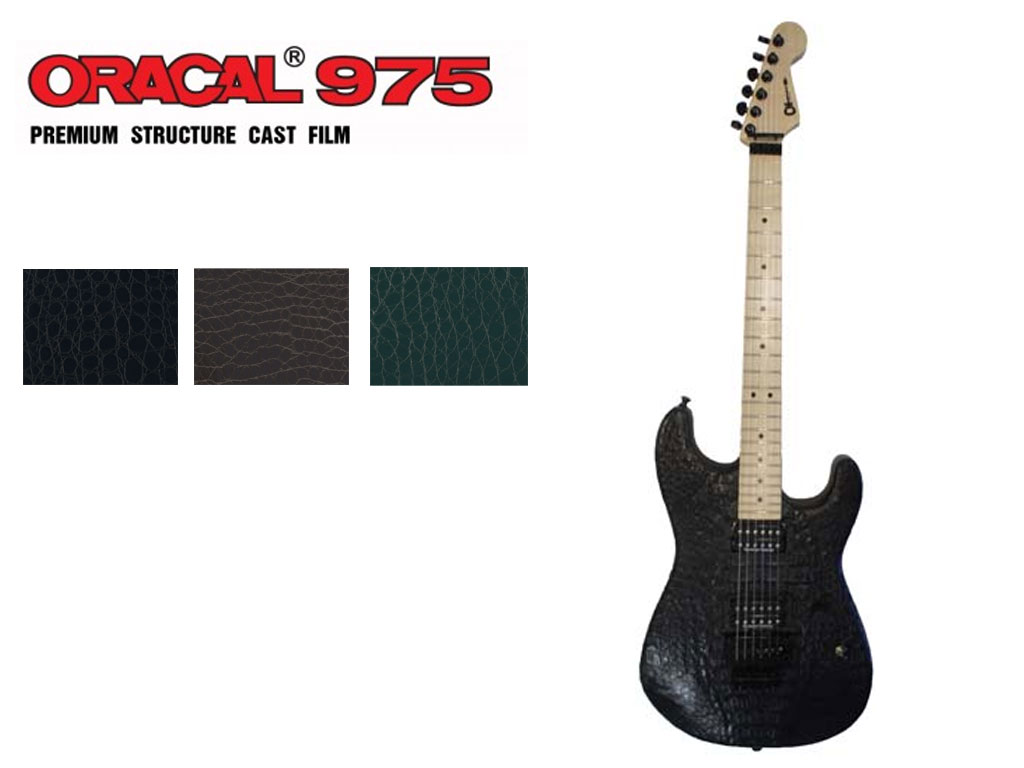ORACAL® 975 Crocodile Guitar Skin