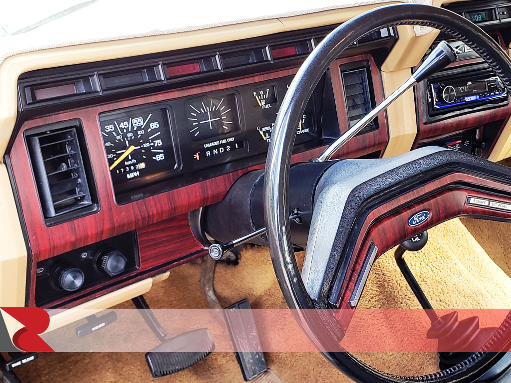 Rcraft mahogany wood grain custom dash kit interior