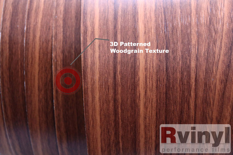 Royal Oak Wood Grain Vinyl Wrap Film For Vehicle Wrapping