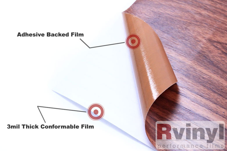 Royal Oak Wood Grain Vinyl Wrap Wooden Pattern Film
