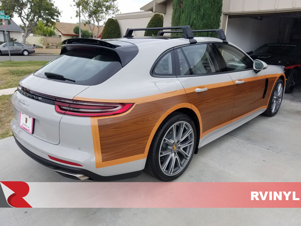 Rcraft? Walnut Woody Panamera Conversion Wrap